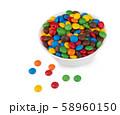 candies on white 58960150