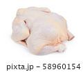 Raw fresh chicken 58960154