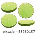 Lime fruit isolated 58960157