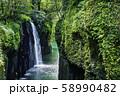 宮崎の絶景 美しい高千穂峡 58990482