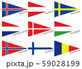 三角国旗 北欧・東欧 59028199