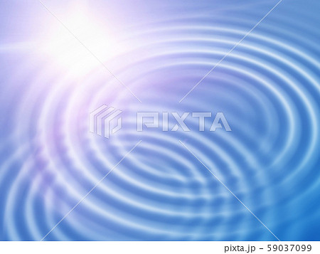 Abstract background with wavy ripples and sunlight 59037099