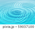Abstract water background with wavy circles 59037100