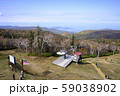 札幌国際スキー場 紅葉ゴンドラ 山頂駅からの眺め 59038902