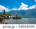 インドネシア バリ島 湖畔のウルン・ダヌ・ブラタン寺院 59056495