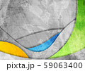 Colorful and grey grunge waves abstract vector 59063400