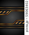 Black and golden technology abstract background 59063402