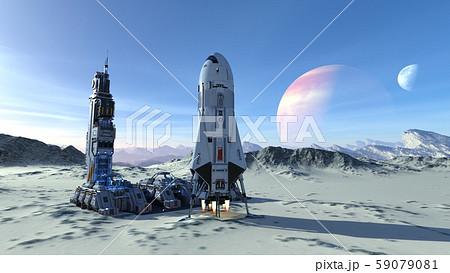 宇宙ステーション 59079081