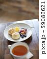 スコーンと紅茶 59086621