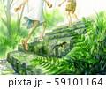 石段の蜥蜴 59101164