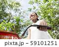 女性 ライフスタイル 自転車 59101251