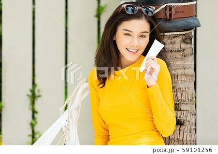 女子旅 リゾート 南国 59101256