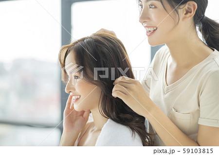 女性 ヘアケア ヘアサロン 59103815