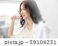 女性 ライフスタイル 歯磨き 59104231