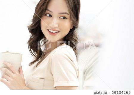 女性 ライフスタイル ティータイム 59104269