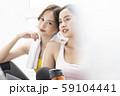 女性 スポーツ 会話 59104441