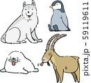 やる気のない動物シリーズ「寒いとこ編」 59119611