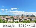 爽やかな青空の街並み風景 59124418