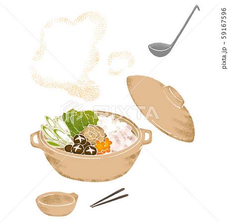 寄せ鍋のイラスト 59167596