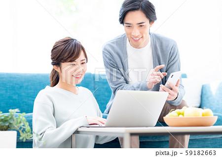若い夫婦 59182663