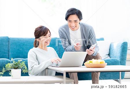 若い夫婦 59182665