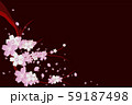 Cherry blossoms at night (Yozakura) 59187498