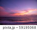 インドネシア バリ島の夕焼け 59195068