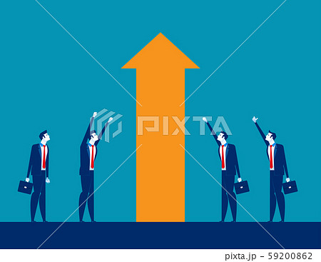 Business investment and Growth. Concept business 59200862