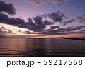 瀬戸内海の夕焼け perming  風景写真素材 59217568