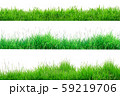 Green Grass Border isolated on white 59219706