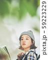 女性 アウトドア トレッキング 59223229
