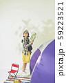 女性 アウトドア ピクニック 59223521