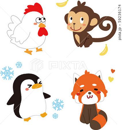 動物のイラスト2 59236174