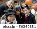 ハロウィンイメージ 小学生子供 59260831