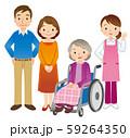 介護 高齢者 ホームヘルパー 59264350