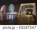 汽車道橋梁ライトアップ 59287347