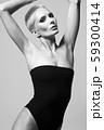 beautiful perfect body adult woman in bikini 59300414