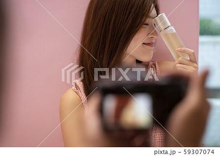 女性 ビューティー 写真撮影 59307074