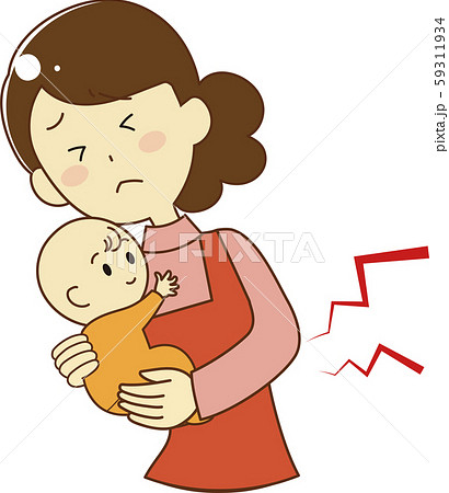 Mother holding her baby 59311934