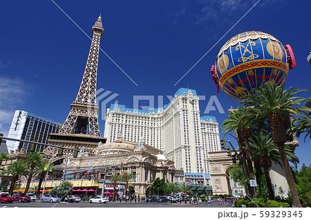 ラスベガスの風景(パリスホテル) 59329345