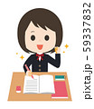 女子 勉強 やる気 59337832