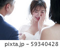 家族 娘の結婚式 59340428