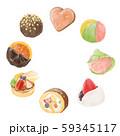 デザートお菓子色々(和菓子洋菓子チョコレート) 59345117