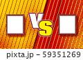 Versus halftone comics design. VS fight vector illustration for poster, infographics, etc. Retro 59351269