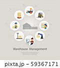 Warehouse management concept 59367171
