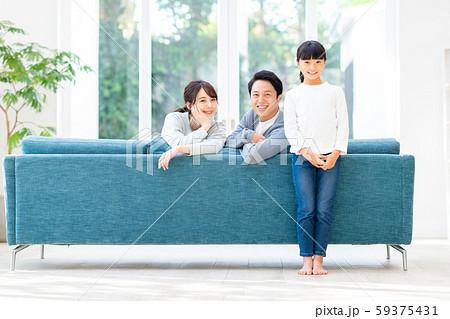 若い家族 59375431