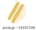 カツサンドイッチ 59397296