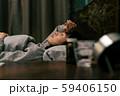 体調不良 カゼ 風邪  病気 女性 59406150