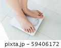 体重計 女性 ダイエット 59406172