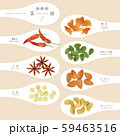 薬膳 / 漢方食材 / ひとさじイラスト-1 59463516